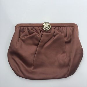 Handbags - Vintage fabric gala clutch